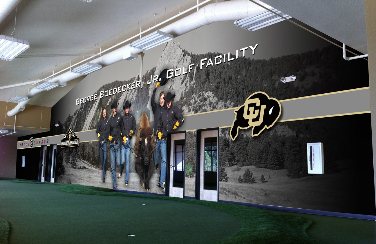 Beautiful indoor golf denver contemporary decoration for Indoor facility design